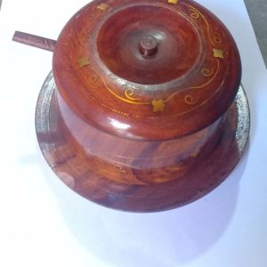 Wooden sugar Pot
